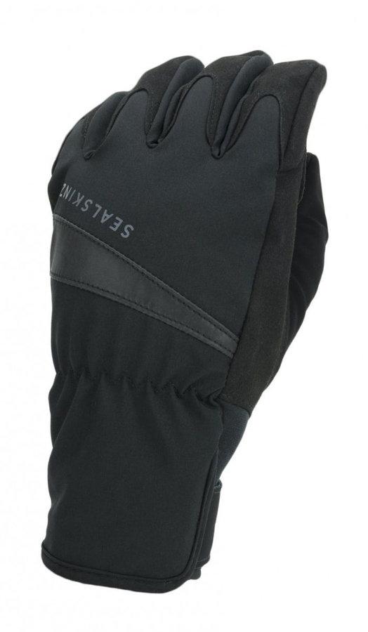 Černé zimní dámské cyklistické rukavice Sealskinz - velikost L