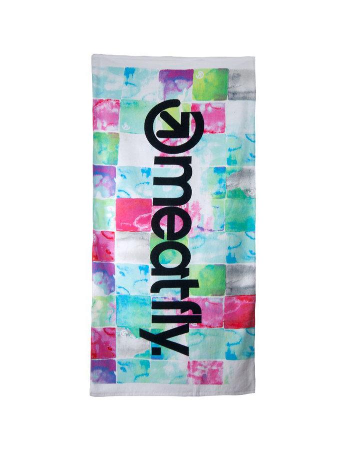 Ručník - MEATFLY Watercheck A-Pink/Mint Velikost: JEDNOTNÁ VELIKOST