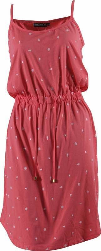 Růžové dámské šaty MARINE