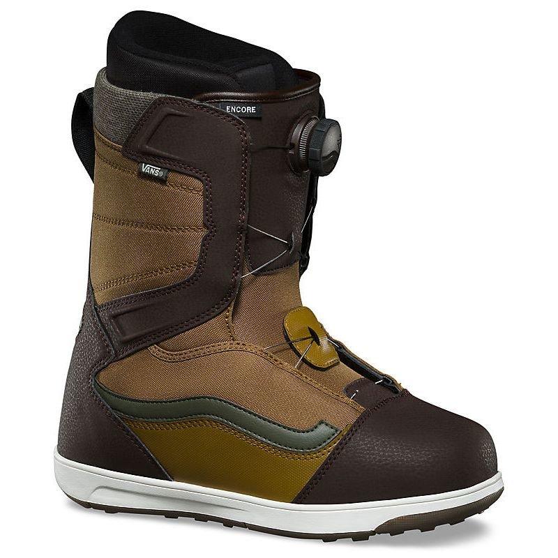 Béžové pánské boty na snowboard Vans