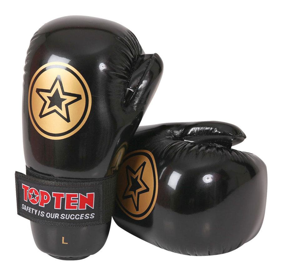 Černá karate rukavice Top Ten - velikost XL