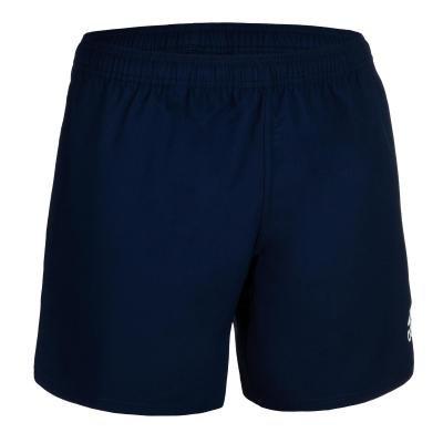 Modré pánské ragbyové kraťasy 3S, Adidas - velikost S