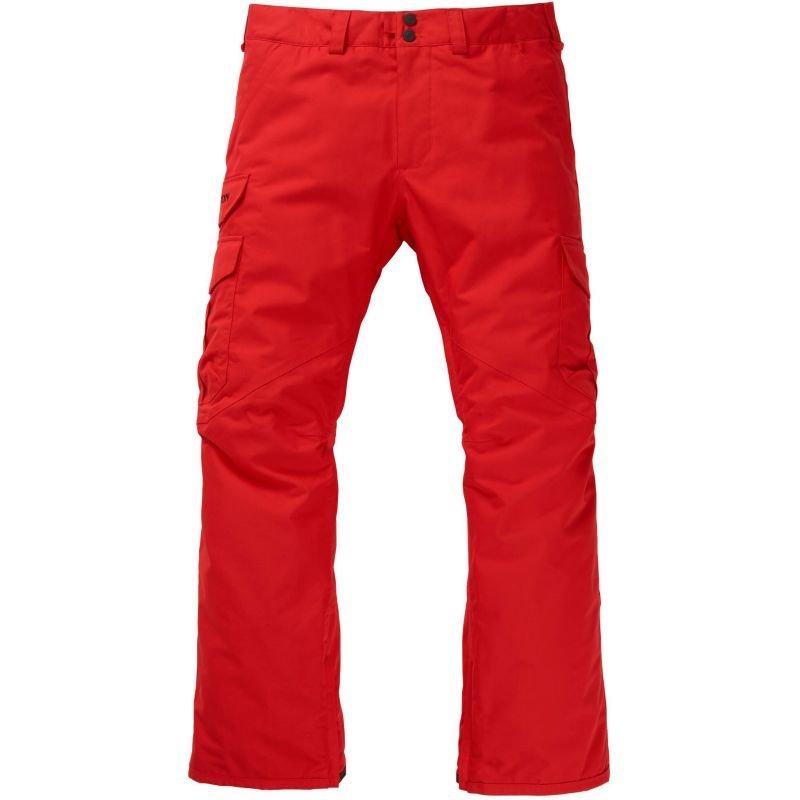 Oranžové pánské snowboardové kalhoty Burton