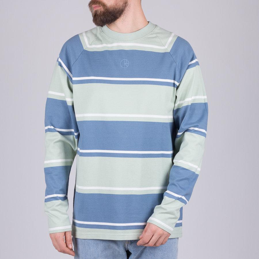 Modré pánské tričko s dlouhým rukávem Polar Skate Co.