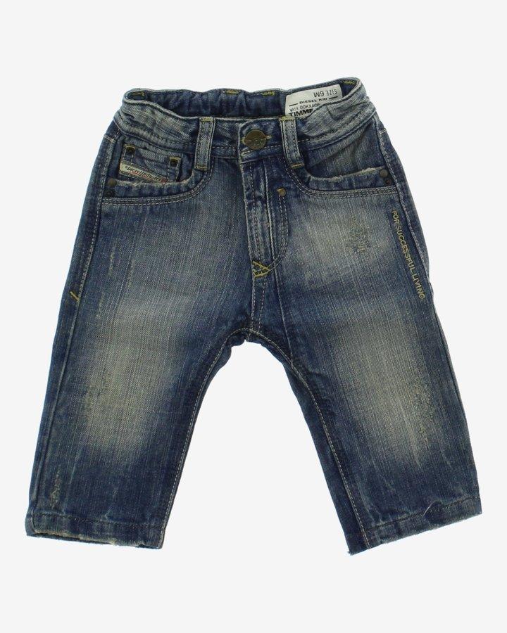 Modré chlapecké džíny Diesel - velikost 68