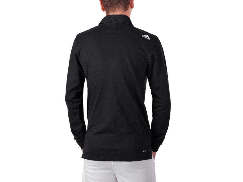 Černé pánské tričko s dlouhým rukávem Adidas - velikost L