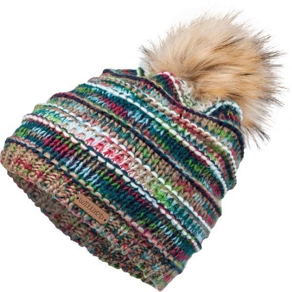 Různobarevná dámská zimní čepice Willard - univerzální velikost