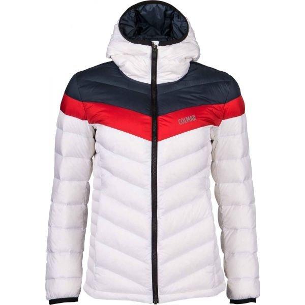 Bílá dámská lyžařská bunda Colmar - velikost 40
