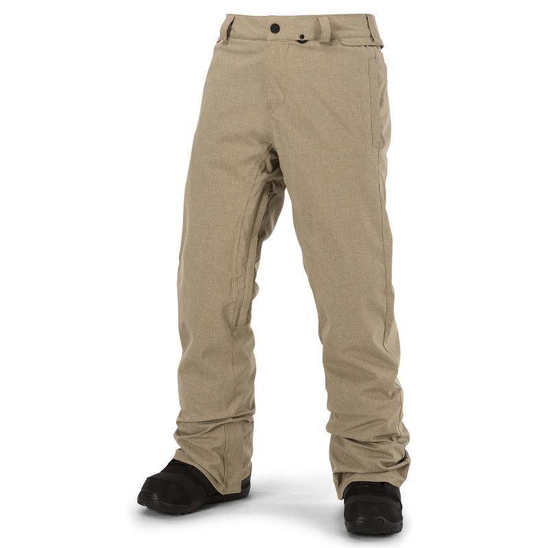 Béžové pánské snowboardové kalhoty Volcom - velikost XL
