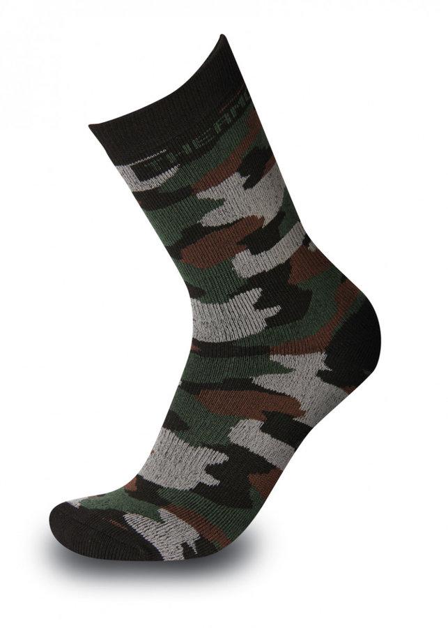Černé pánské ponožky Sherpax - velikost 35-38 EU