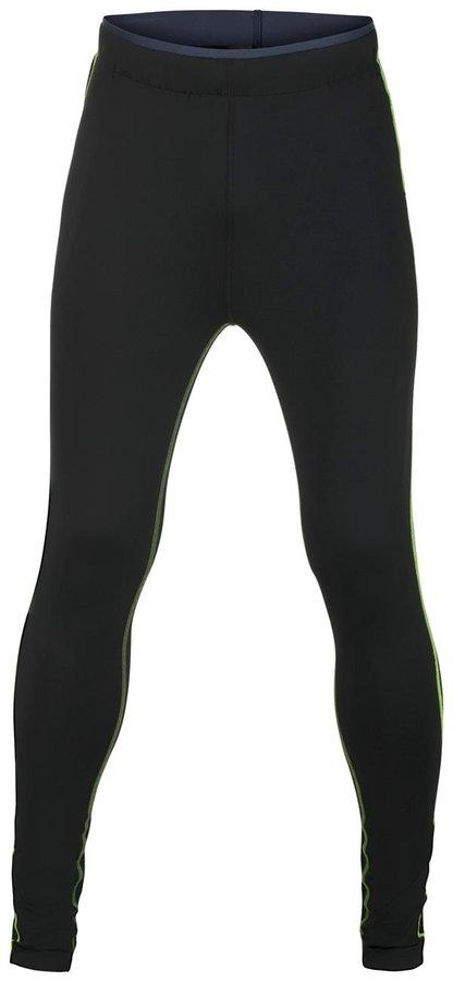 Černé pánské běžecké kalhoty Alpine Pro