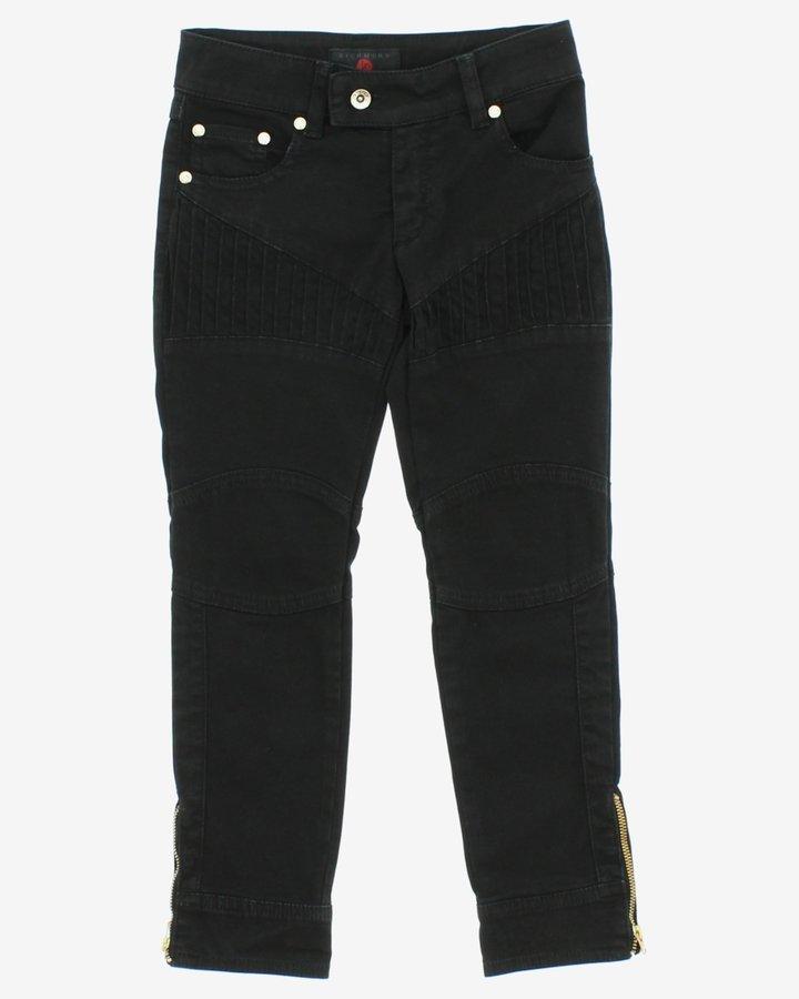 Černé dívčí džíny John Richmond - velikost 116