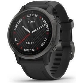 Černý sporttester Fenix6S Pro, Garmin