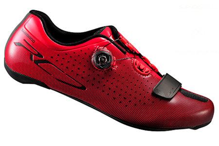 Červené cyklistické tretry SH-RC700MR, Shimano - velikost 45 EU
