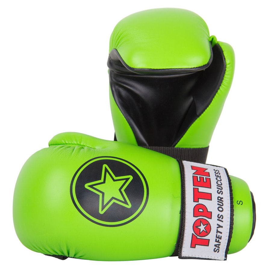 Zelená karate rukavice Top Ten