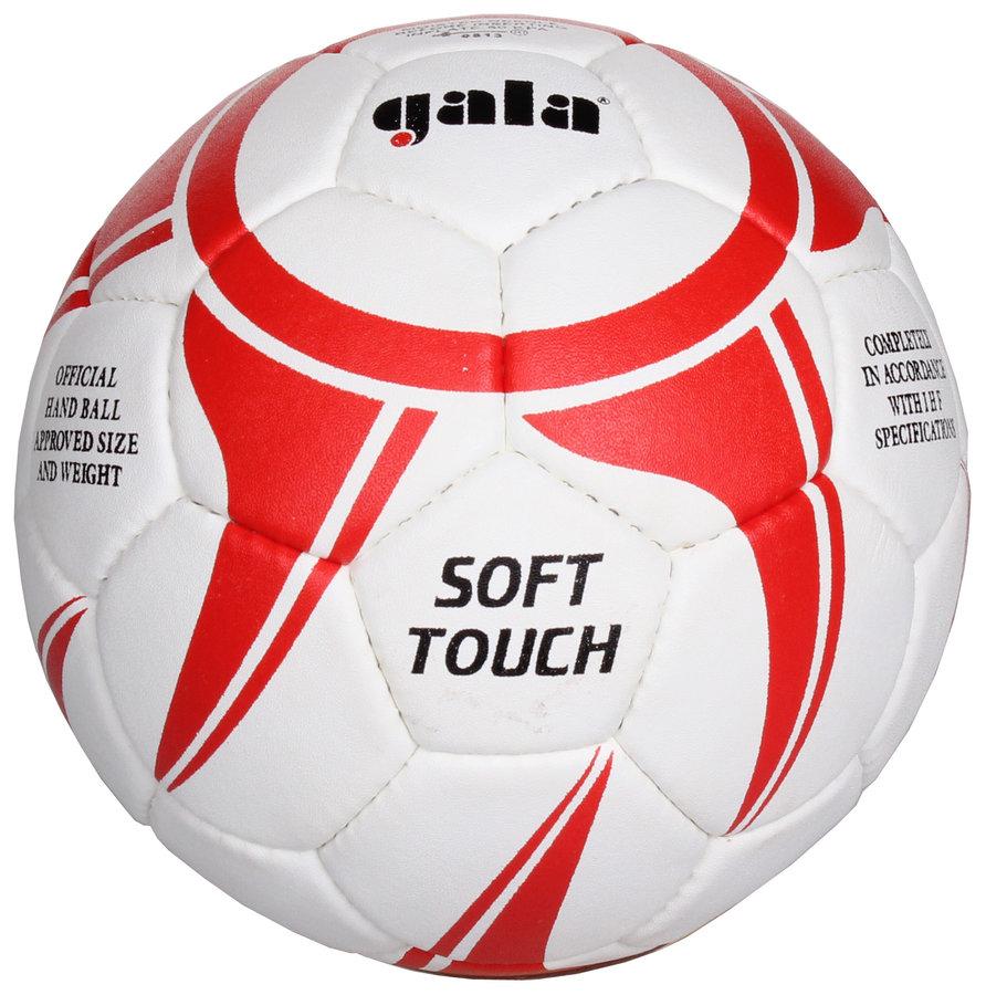 Bílo-červený míč na házenou BH2043S, Gala - velikost 2