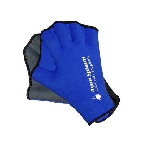 Černo-modré plavecké rukavice Aqua Sphere