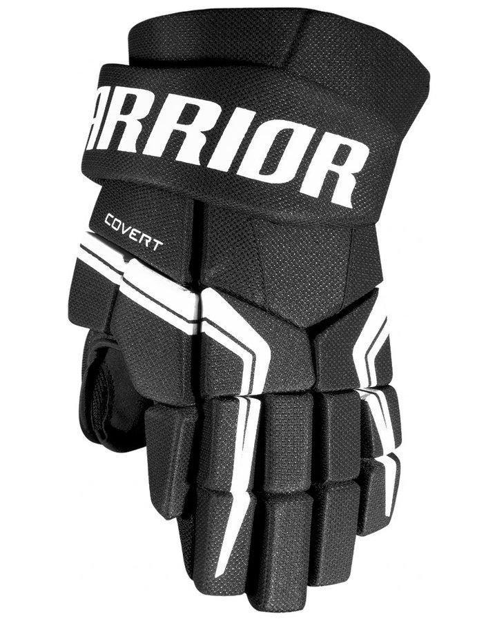 Černé hokejové rukavice - senior Covert QRE5, Warrior