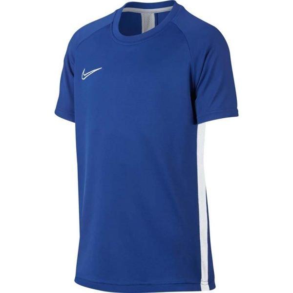 Modré dětské tričko s krátkým rukávem Nike