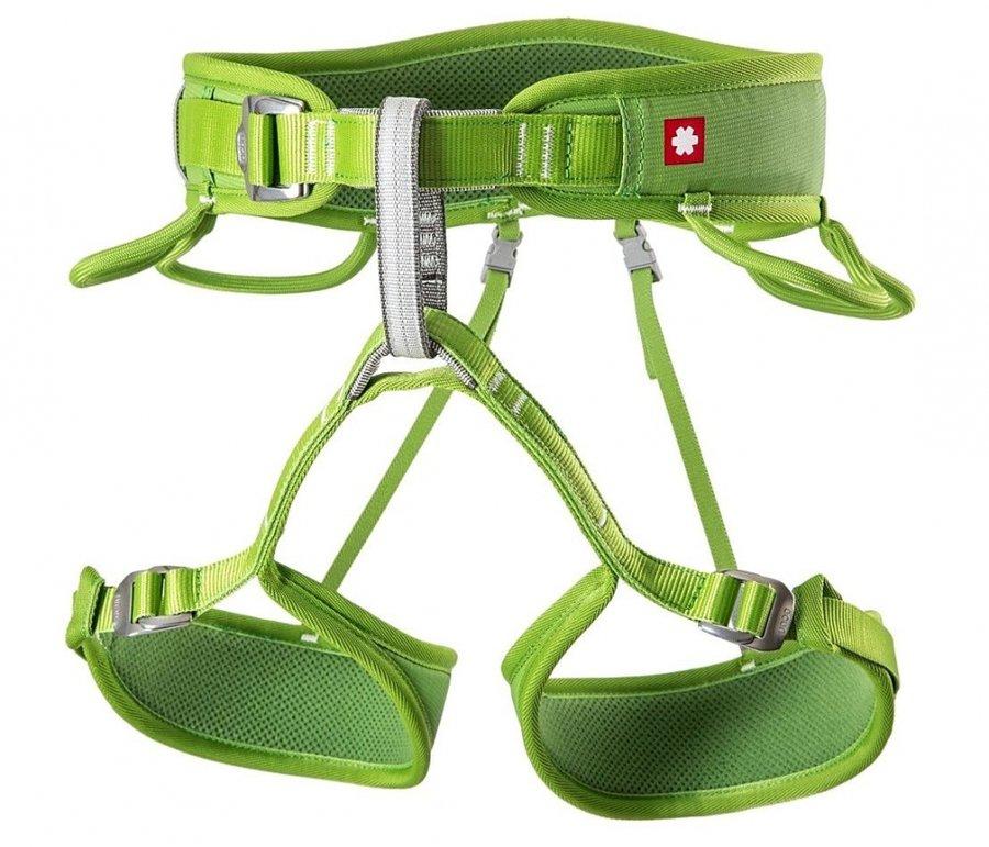 Zelený pánský horolezecký úvazek Ocún