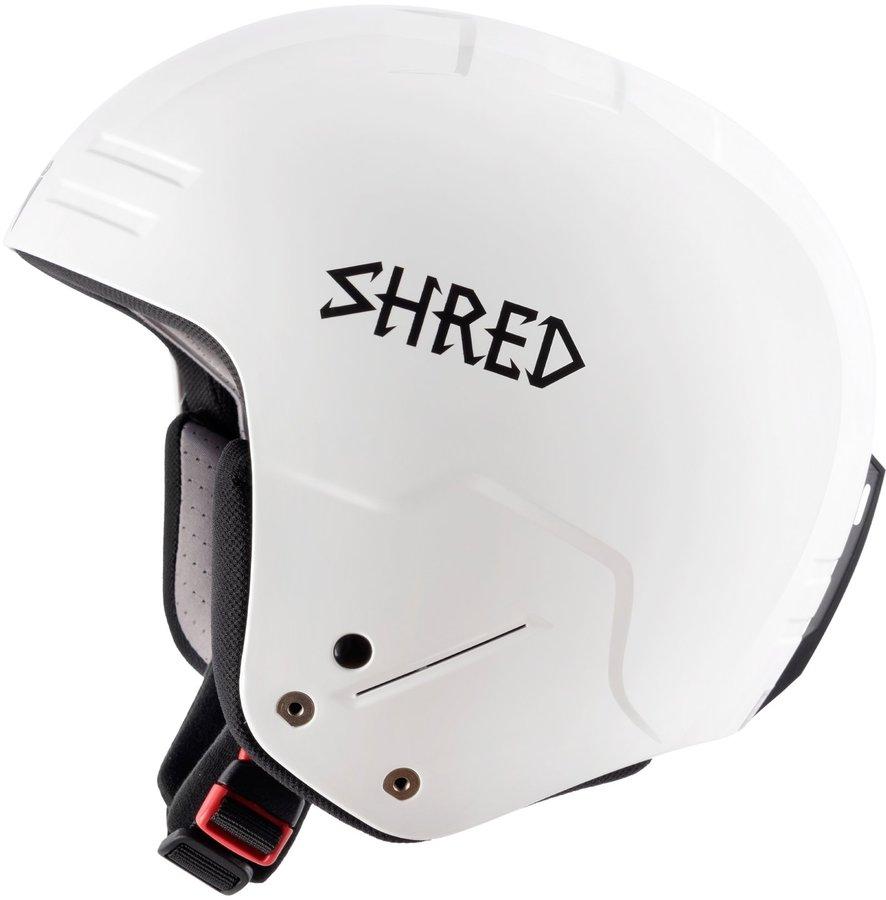 Bílá dámská helma na snowboard Shred - velikost S