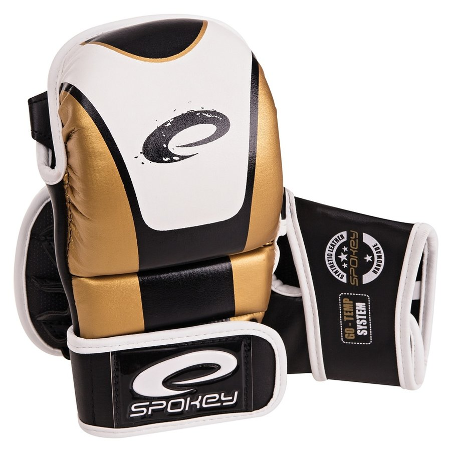 Zlaté MMA rukavice Spokey - velikost M