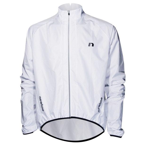 Bílá pánská nebo dámská cyklistická bunda Newline - velikost XS