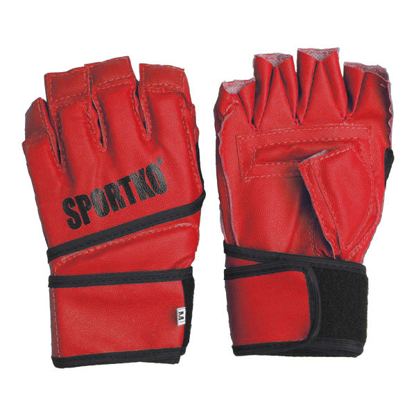 Červené MMA rukavice SportKO