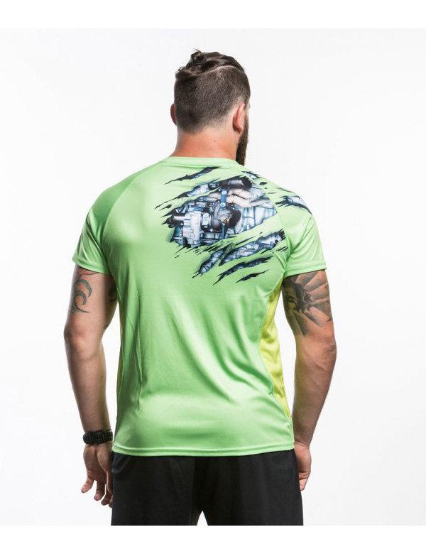 Pánské funkční tričko s krátkým rukávem