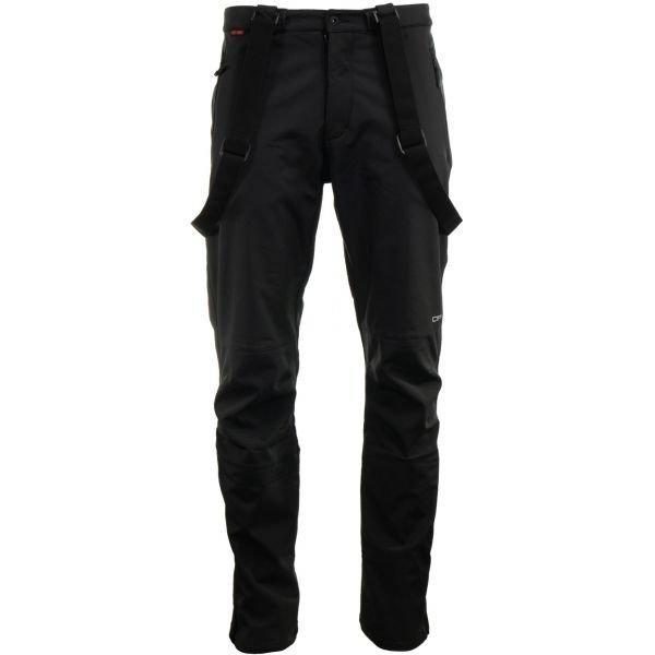 Černé pánské lyžařské kalhoty Alpine Pro