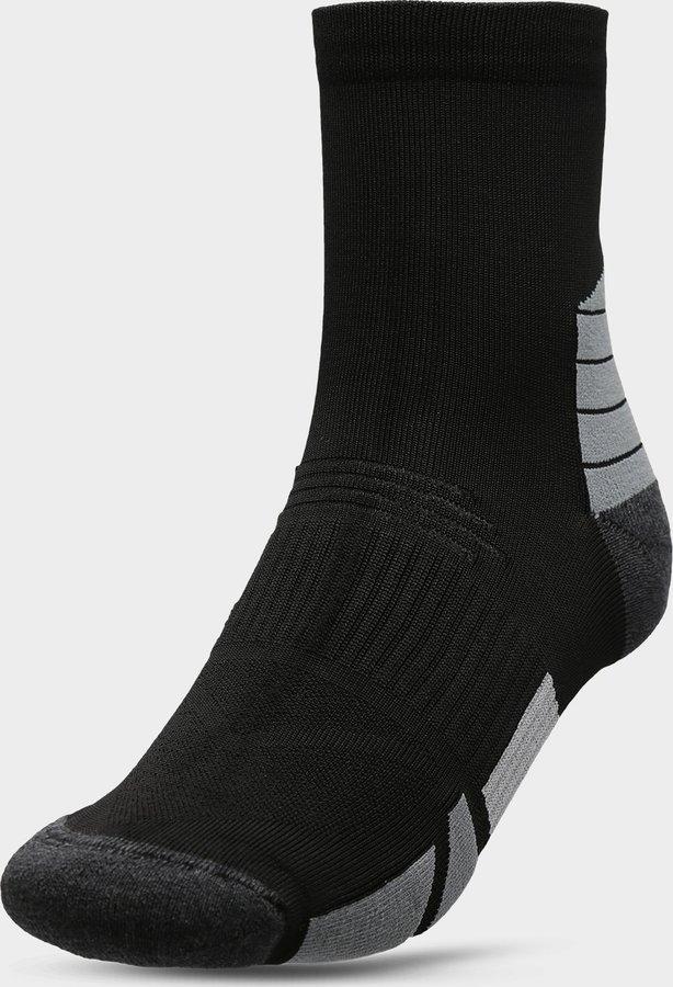 Černé pánské ponožky 4F - velikost 39-42 EU