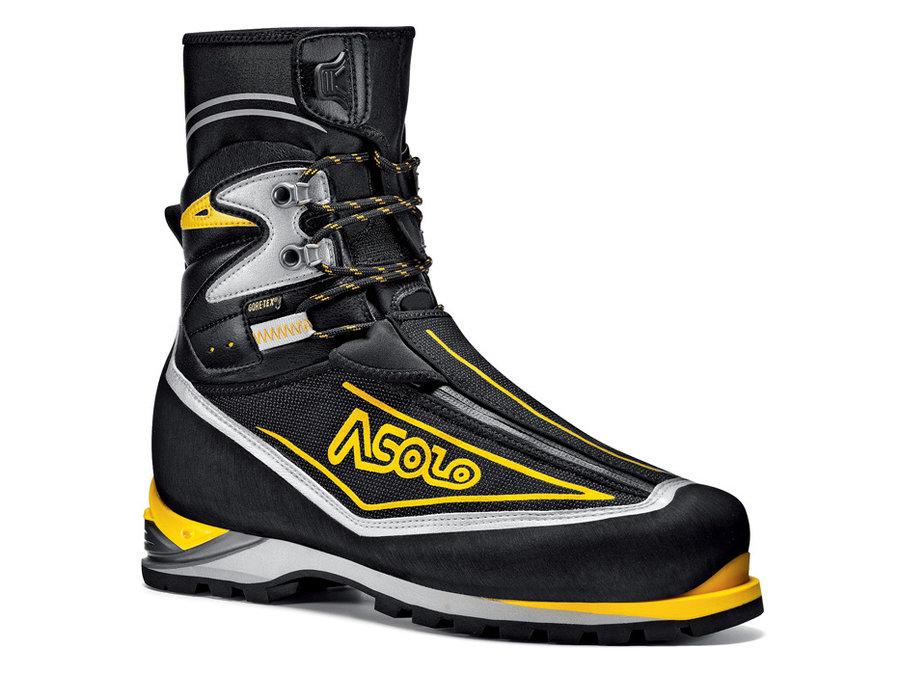 Černé pánské horolezecké boty Asolo