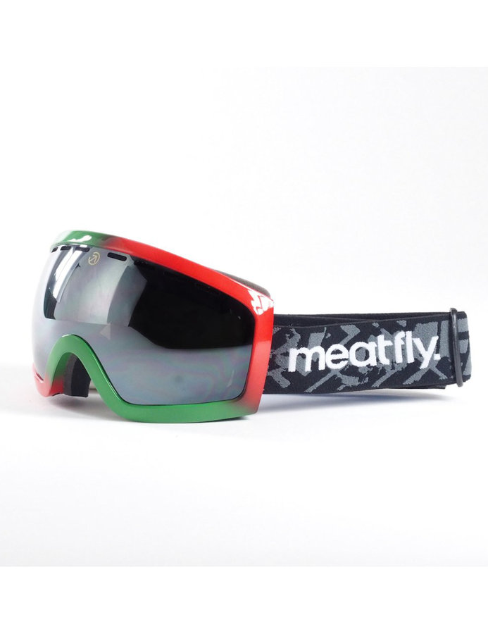 Lyžařské brýle - Meatfly Sphere 2 D-Rasta/Black Chrome Velikost: JEDNOTNÁ VELIKOST