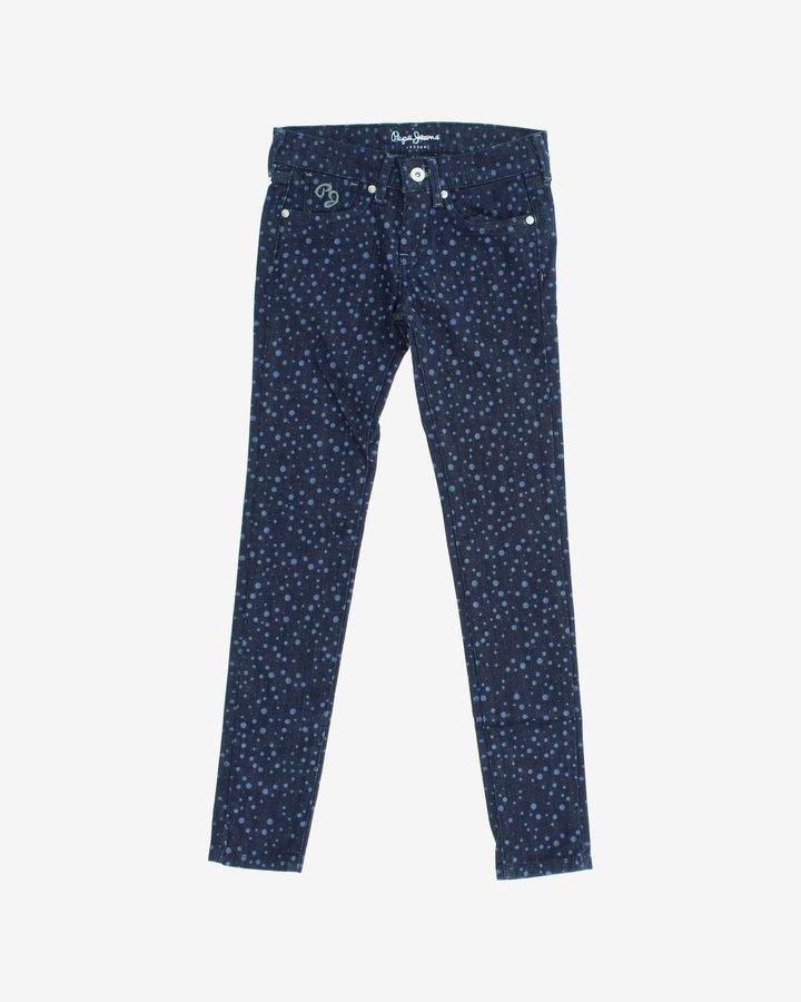 Modré dívčí džíny Pepe Jeans