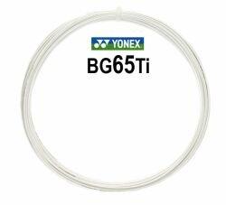 Badmintonový výplet Micron BG65Ti, Yonex - průměr 0,70 mm