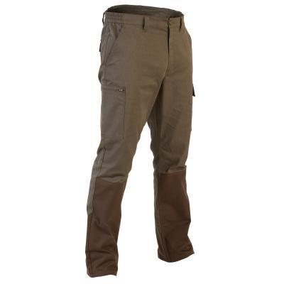 Hnědé lovecké kalhoty Solognac