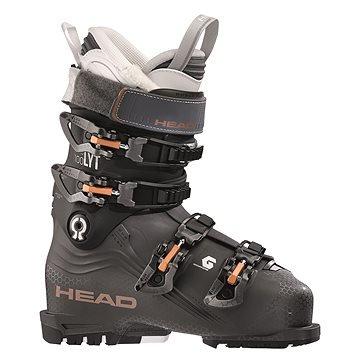 Šedé dámské lyžařské boty Head - velikost vnitřní stélky 27 cm