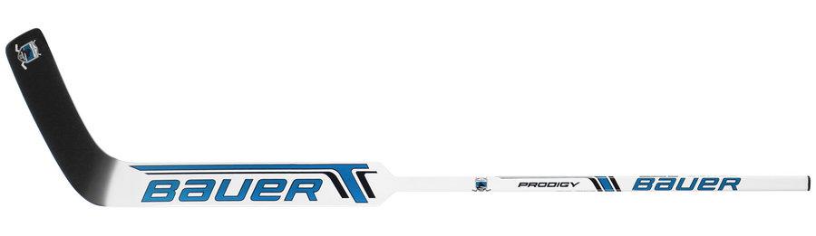 Brankářská hokejka - Brankářská hůl Bauer PRODIGY 2.0 Composite Youth BLUE Provedení: levá