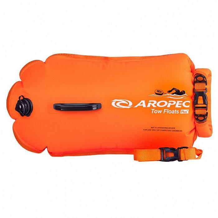 Oranžová nafukovací plavecká bójka Aropec