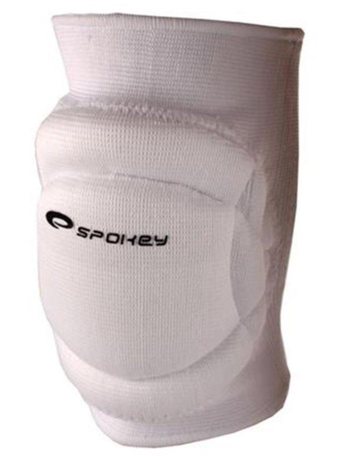 Bílé volejbalové chrániče na kolena Spokey - velikost XL