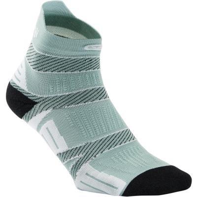 Šedé běžecké ponožky FINE, Kalenji