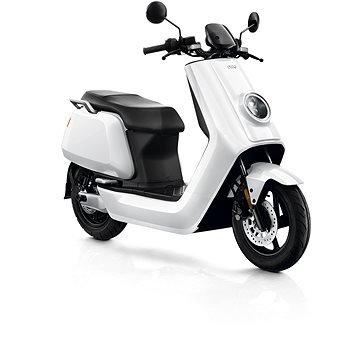 Bílá elektrická motorka N Sport, NIU