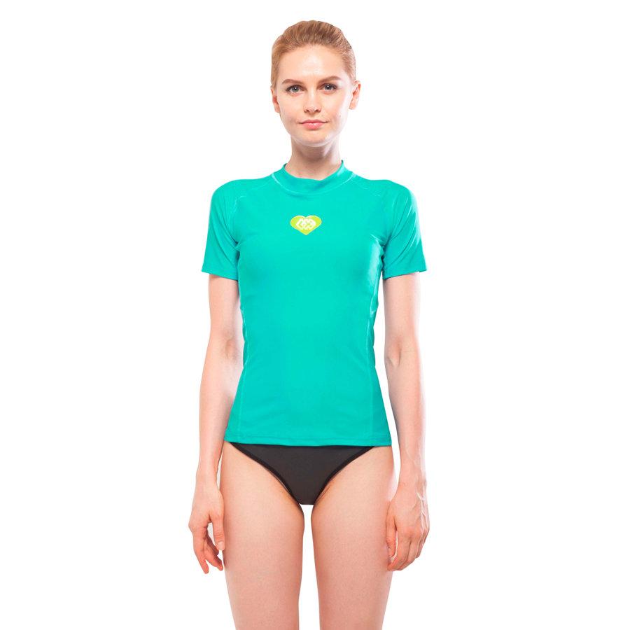 Dámské lycrové tričko Alluv, Aqua Marina