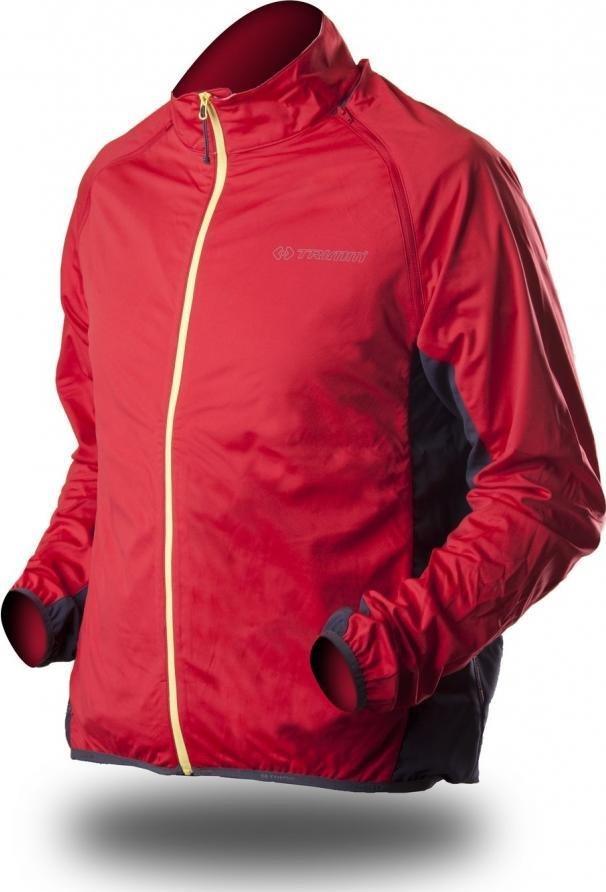 Červená pánská nebo dámská cyklistická bunda Trimm
