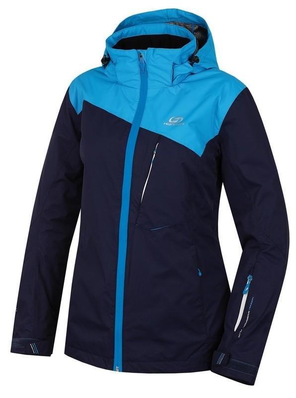 Modrá dámská lyžařská bunda Hannah