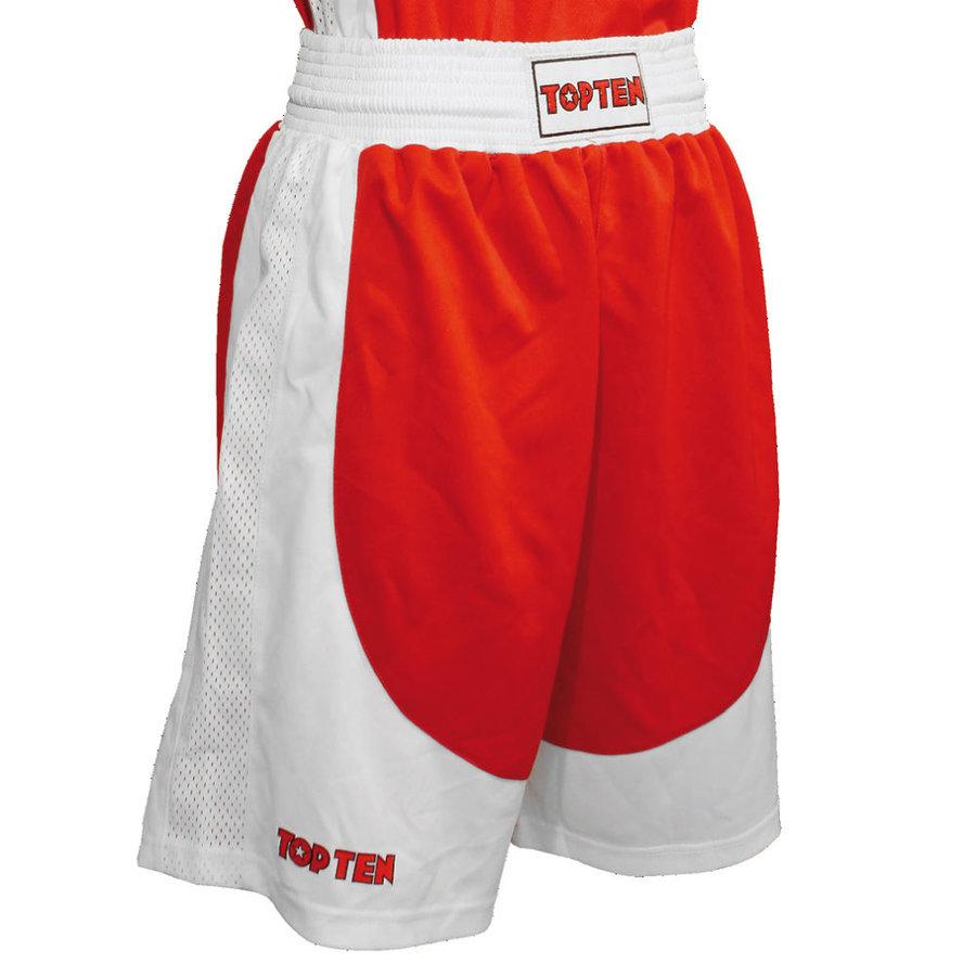 Červené boxerské trenky AIBA, Top Ten - velikost XL
