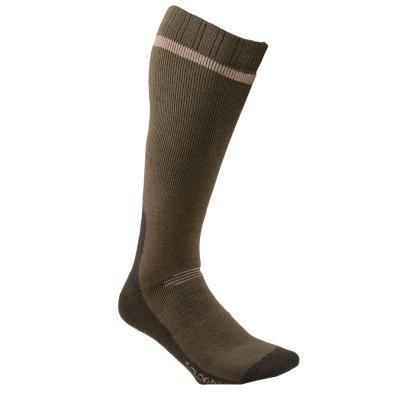 Zelené vysoké lovecké ponožky Solognac