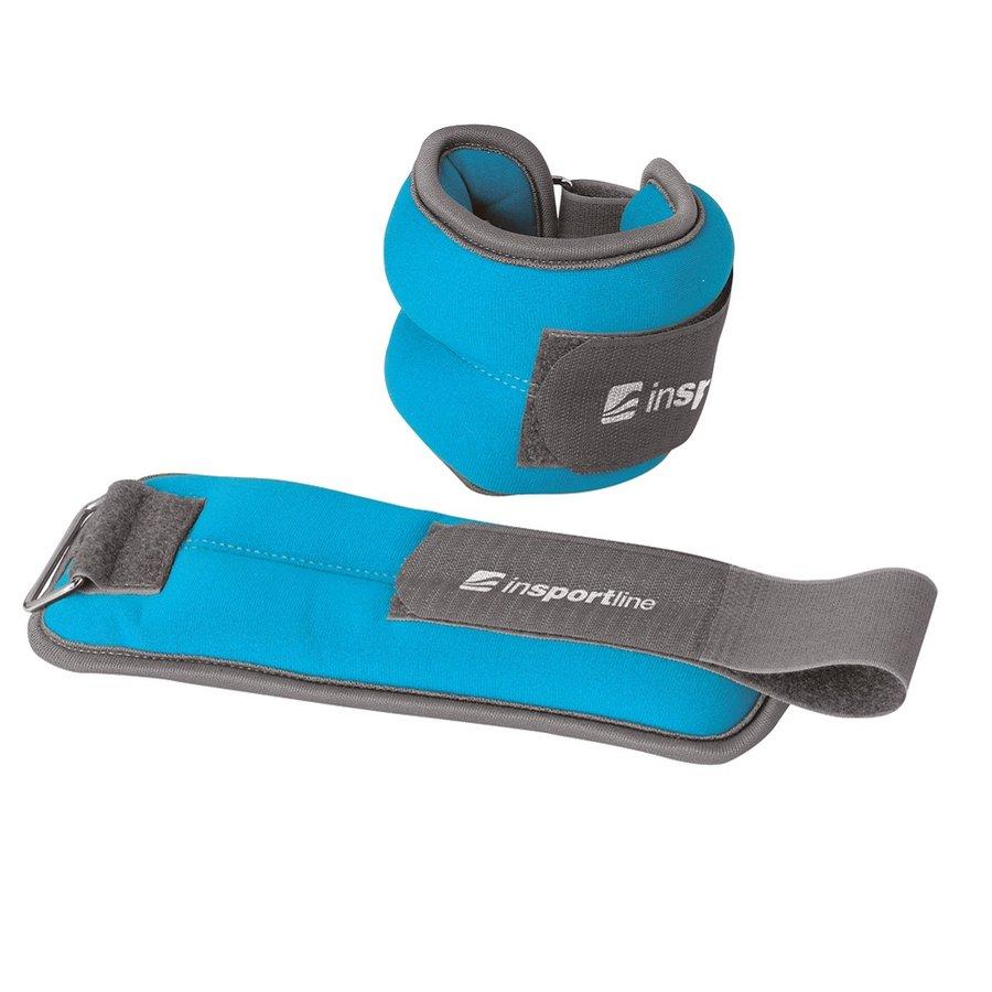 Modré závaží na ruce a nohy inSPORTline - 1,5 kg