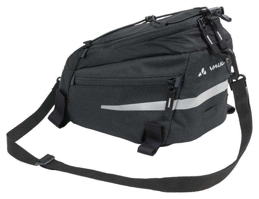 Černá brašna na kolo na zadní nosič Silkroad, VAUDE - objem 5 l