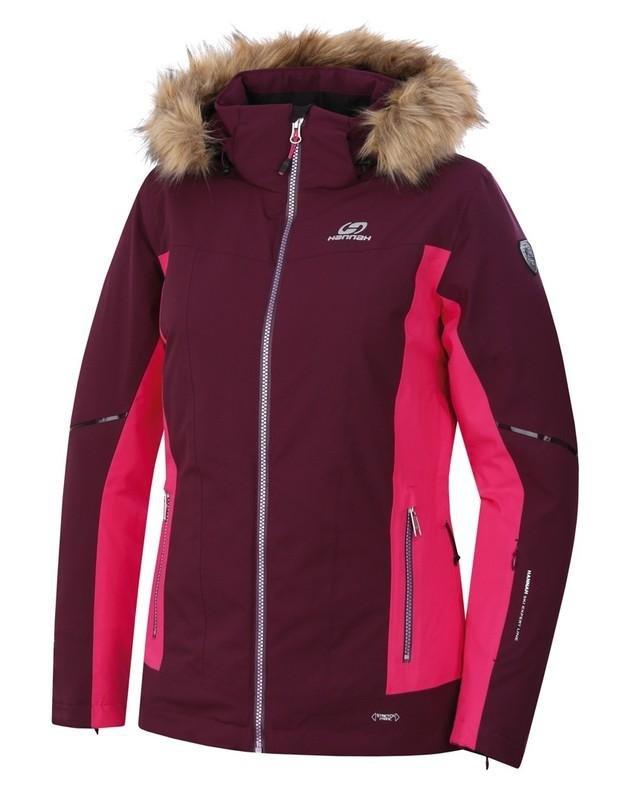 Červená dámská lyžařská bunda Hannah